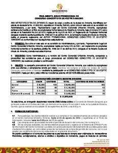 REGLAMENTO JUEGO PROMOCIONAL DE CONCURSO CONCIERTO DE SILVESTRE DANGOND