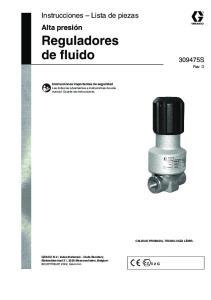Reguladores de fluido