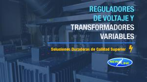 REGULADORES DE VOLTAJE Y TRANSFORMADORES VARIABLES