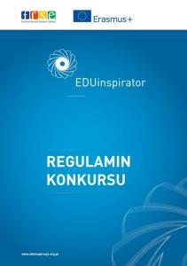 Regulamin konkursu EDUinspirator 2016