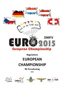 Regulations EUROPEAN CHAMPIONSHIP. RC Parachuting
