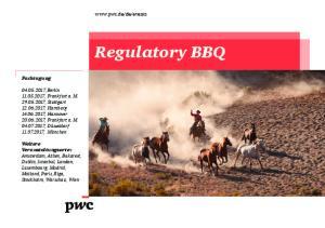 Regulatory BBQ.  Fachtagung