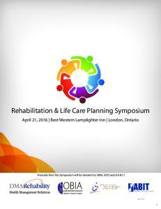 Rehabilitation & Life Care Planning Symposium