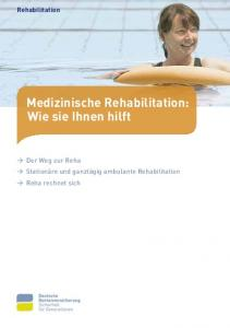 Rehabilitation Medizinische Rehabilitation: Wie sie Ihnen hilft