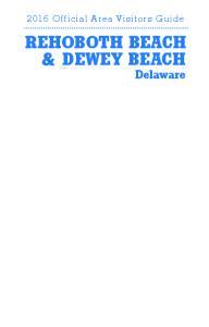 REHOBOTH BEACH & DEWEY BEACH