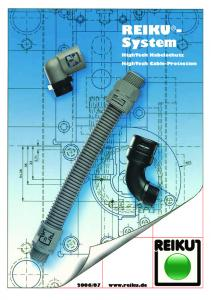 REIKU - System HighTech Kabelschutz HighTech Cable-Protection