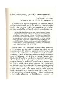 Reinaldo Arenas, escritor neobarroco?