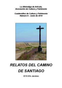 RELATOS DEL CAMINO DE SANTIAGO