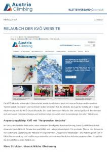 RELAUNCH DER KVÖ-WEBSITE