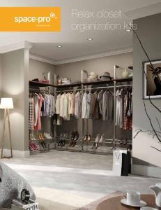Relax closet organization kits