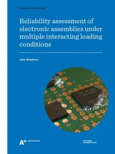 Reliability assessmentof electronicassemblies under multipleinteracting loading conditions