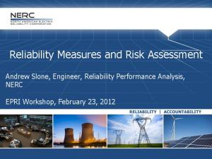 Reliability Measures and Risk Assessment