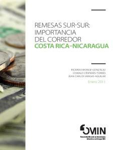 REMESAS SUR-SUR: IMPORTANCIA DEL CORREDOR