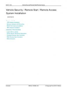 Remote Access System Installation