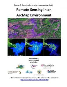 Remote Sensing in an