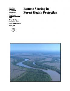 Remote Sensing in Forest Health Protection