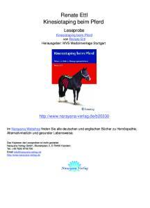 Renate Ettl Kinesiotaping beim Pferd