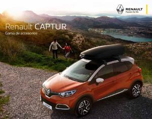 Renault CAPTUR Gama de accesorios