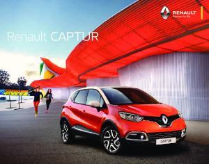 Renault CAPTUR im Scan