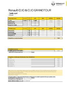 Renault CLIO & CLIO GRANDTOUR