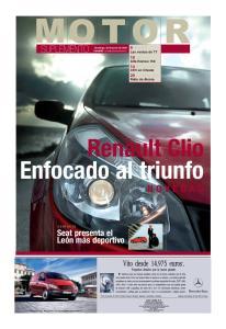 Renault Clio Enfocado al triunfo