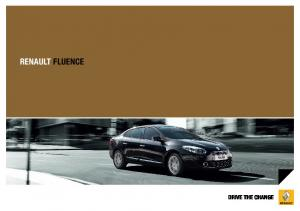 renault FLUence drive the change