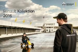 Renault Kollektion 2016