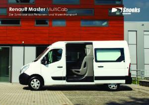 Renault Master MultiCab Die Symbiose aus Personen- und Warentransport