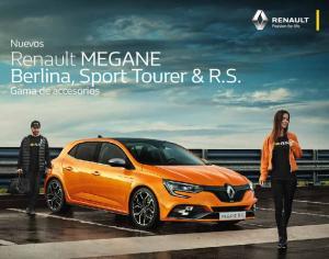 Renault MEGANE Berlina, Sport Tourer & R.S