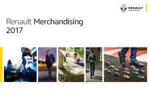 Renault Merchandising 2017