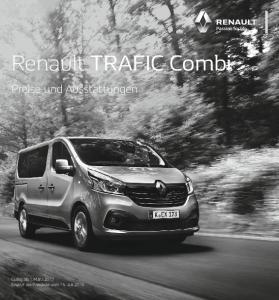 Renault TRAFIC Combi. Preise und Ausstattungen