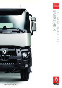 renault-trucks.de SCHWERE BAUSTELLE BAUREIHE K