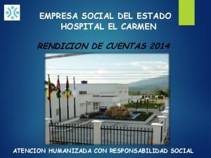 RENDICION DE CUENTAS 2014