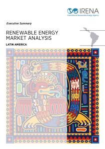 RENEWABLE ENERGY MARKET ANALYSIS