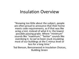 renovation time => least costly or quickest installation choices