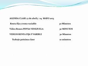 Renta fija y renta variable. Video Bonos PDVSA VENEZUELA VIDEOS RENTA FIJA Y VARIBLE