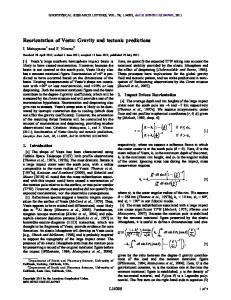 Reorientation of Vesta: Gravity and tectonic predictions