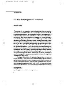 Reparations for the transatlantic slave trade, slavery, sexual slavery, genocide,