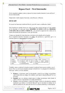 Repaso Excel Nivel Intermedio