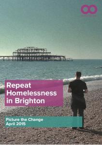 Repeat Homelessness in Brighton