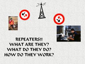 REPEATERS!! WHAT ARE THEY? WHAT DO THEY DO? HOW DO THEY WORK?