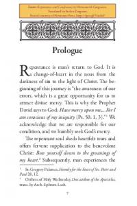 Repentance is man s return to God. It is
