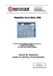 Repetidor de la Serie 1000
