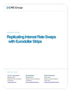 Replicating Interest Rate Swaps with Eurodollar Strips