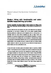 Report about the Summer Collection 2014