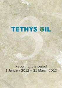 Report for the period 1 January 31 March 2012