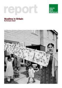report Muslims in Britain By Humayun Ansari