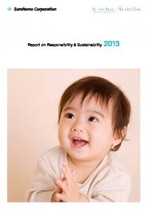 Report on Responsibility & Sustainability 2013