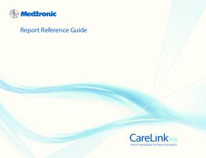 Report Reference Guide THERAPY MANAGEMENT SOFTWARE FOR DIABETES
