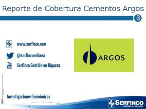 Reporte de Cobertura Cementos Argos